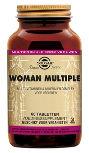 WOMAN multiple 60 tabletten Solgar