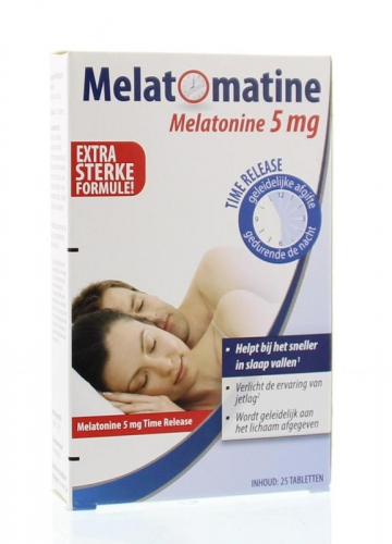 Melatomatin 5mg Time Release 25 tablets