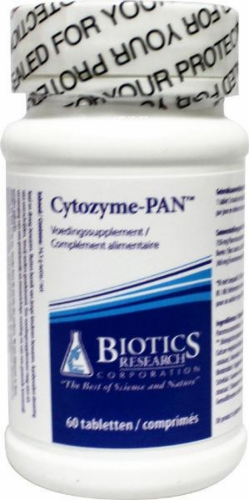 Cytozyme pan pancreas 60tab Biotics