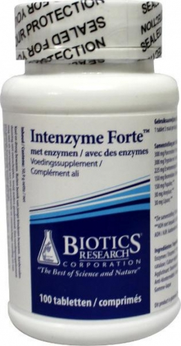Intenzyme forte 100 Tabletten Antibiotika Forschung