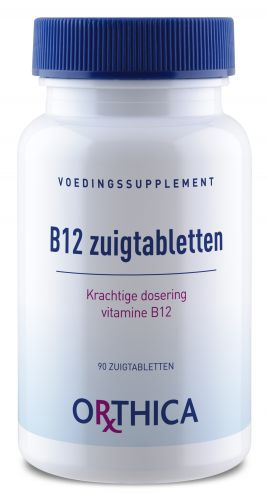 Vitamin B12 Lozenges 90 tablets Orthica