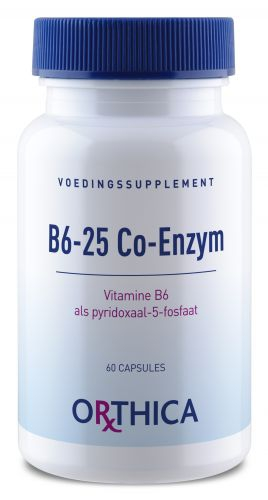 B6-25 co enzyme 60caps Orthica