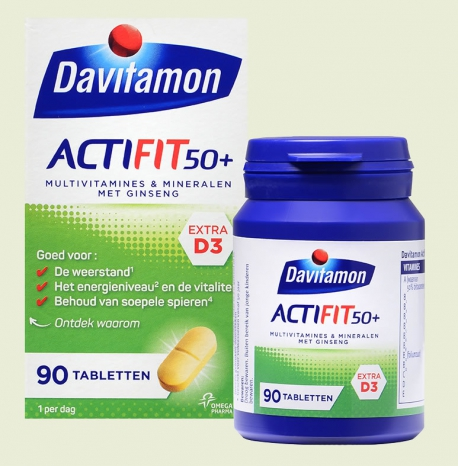 Actifit 50+ Davitamon