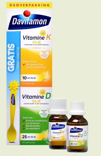 Baby vitamine D & K 25ml Davitamon