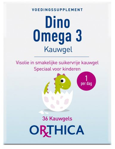 Dino Omega 3 36 pieces Orthica NEW