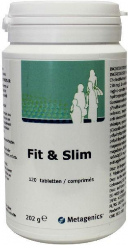 Fit & slim 120 tabletten Metagenics