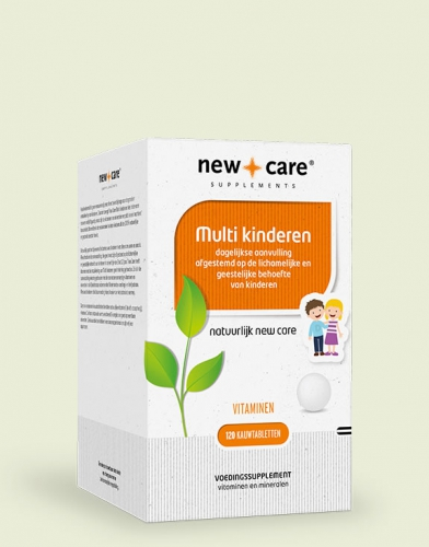 Multi children 120 chewable tablets New Care