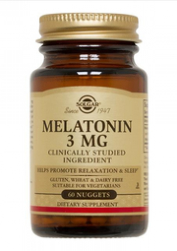 Melatonin 3 mg 120 Nuggets (Tabletten) Solgar USA