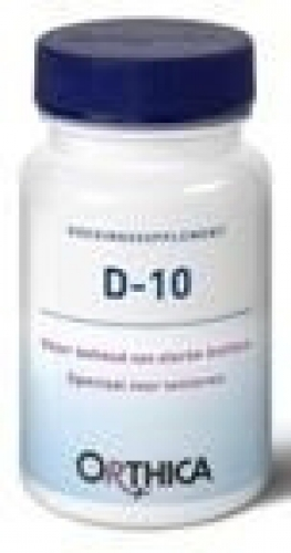 Vitamine D10 120 tabletten Orthica