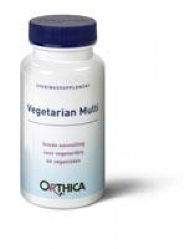 Vegetarian multi 90 tabletten Orthica