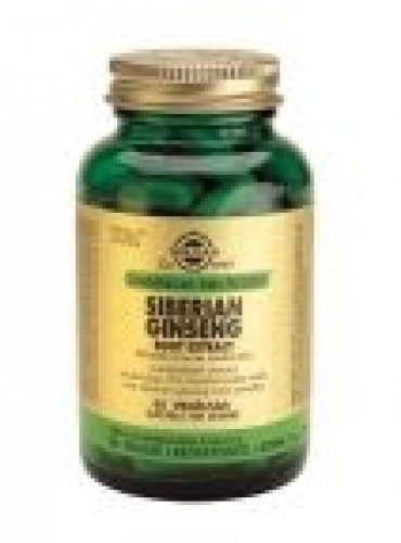 Siberian Ginseng Root Extract 60 capsules Solgar