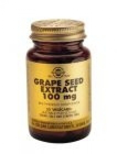 Grape Seed Extract 100 mg Grape 30 vegetable capsules Solgar