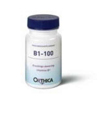 Vitamine B1 100 90 tabletten Orthica