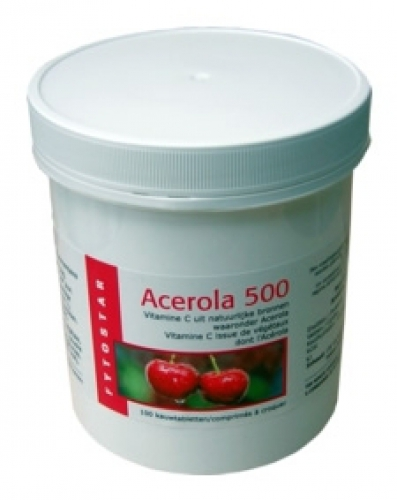 Acerola 500mg 120st +30 free phyto star