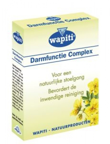 Intestinal function dragees wapiti