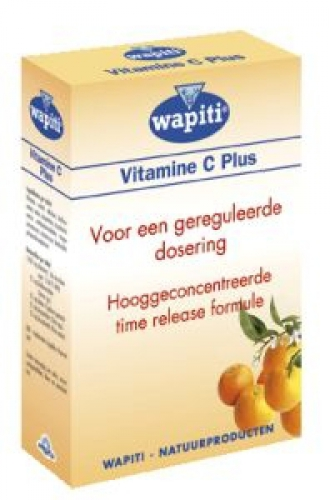 Vitamine C plus 1000mg 45 tabletten Wapiti