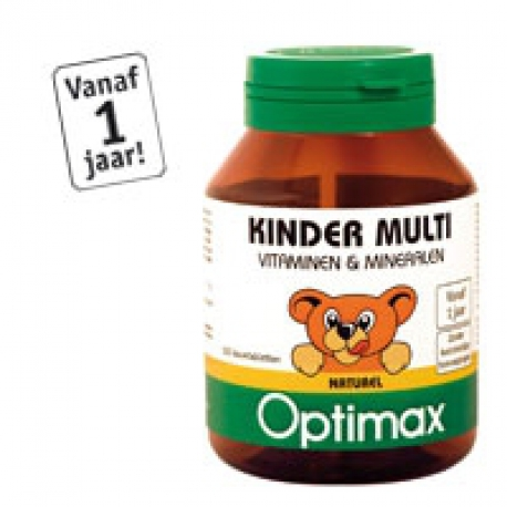 Optimax multivitamine naturelle des enfants
