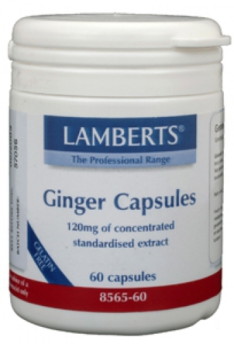 Ginger (gingembre) Lamberts 60vcaps