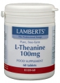 L-theanine 200mg 60 tabletten Lamberts