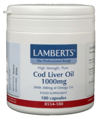 Levertraan 1000mg lamberts