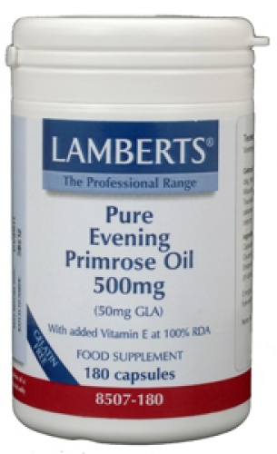 Evening primrose oil 500mg lamberts 180vcaps