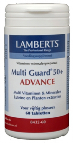 Multi guard 50+ advance 60tabl lamberts