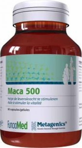 Maca 500 90c metagenics