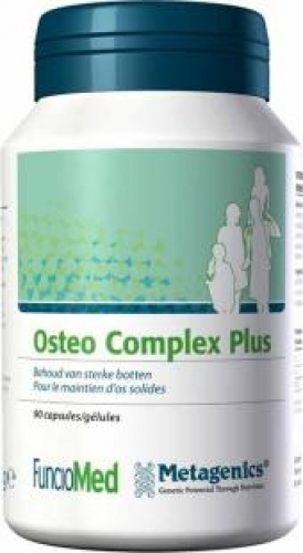 Osteo complex plus 90 capsules Metagenics