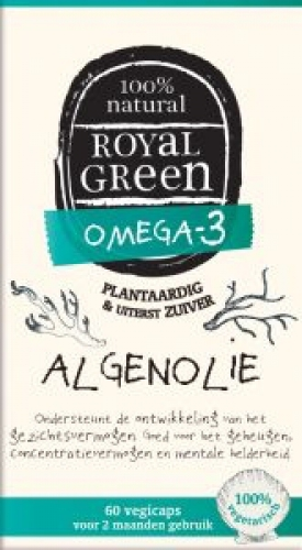 Algae Oil Omega 3 60 capsules Royal Green