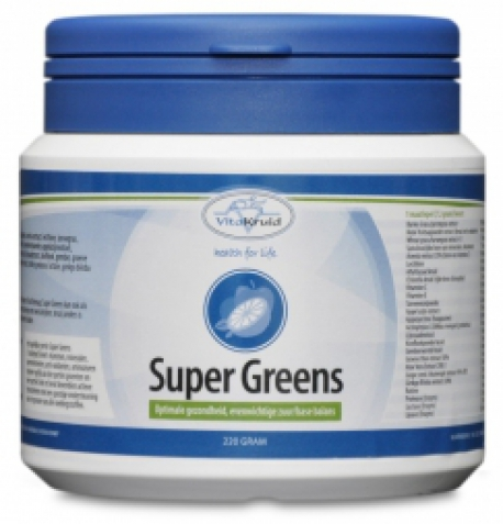 Super greens poeder220gram Vitakruid