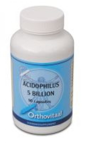 May 90 billion acidophilus capsules ortho vital