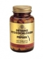 Betaine Hydrochloride with Pepsin 100 tabletten Solgar