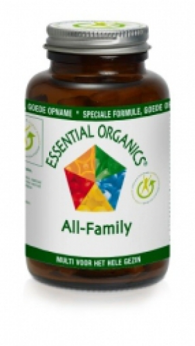 All family 90 tablets Essential Organics
