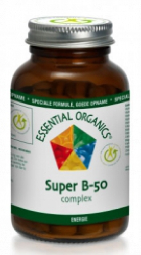 Super b-50 complex 60 tablets Essential Organics