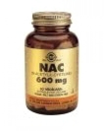 NAC 600 mg Vegetable Capsules Solgar 60