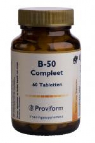Vitamine b-50 compleet 60 tabletten proviform