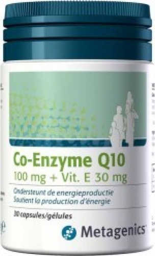 Co-Enzyme Q10 100mg Metagenics