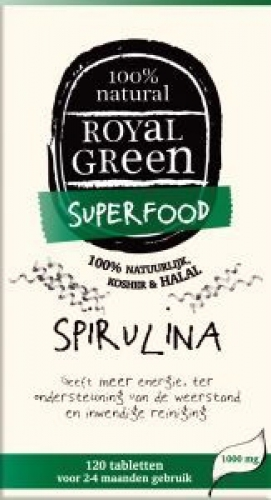 Spirulina 1000mg Royal Green