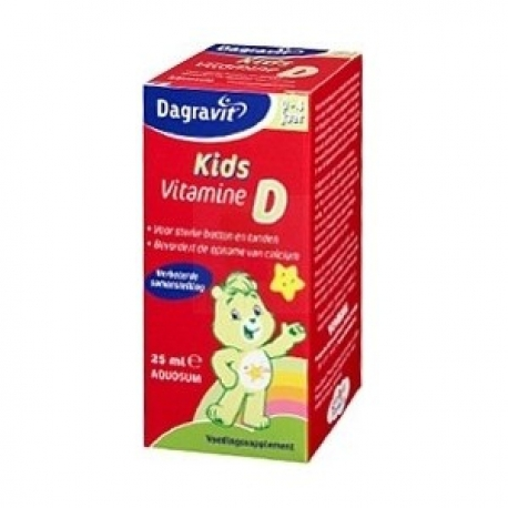 Dagravit Kids Vit D Oil 25ml