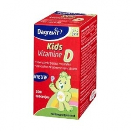 Dagravit Kids Vit D 200 Tabletten