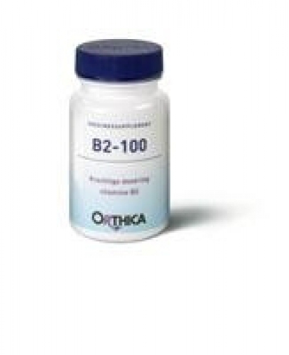 Vitamin B2 100 90 Tabletten Orthica