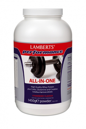 All in one protein shake Lamberts Performance