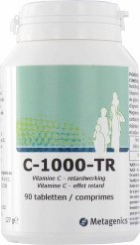 Vitamine C 1000 time release 90 tabletten Metagenics