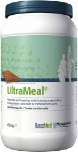 Ultra meal chocolade 630g Metagenics