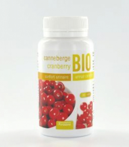 Cranberry 360mg organique 30vc PURASANA