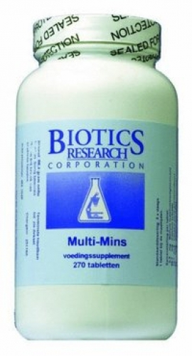 Multi mins 120tab Biotics