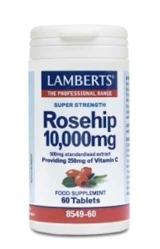 Rosehip 10.000mg 60 tablets Lamberts
