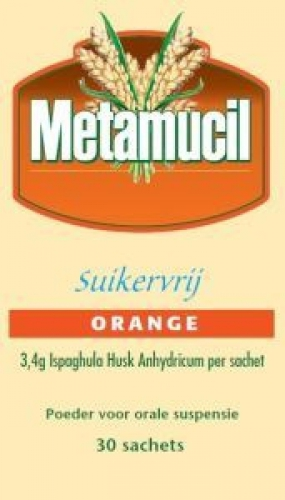 Metamucil orange 30 sachtes zuckerfrei