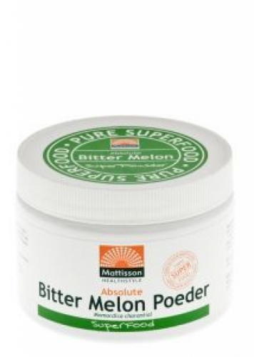 Absolute bitter melon poeder 10% 125g Mattisson