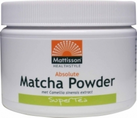 Absolute Instant Matcha powder 125g Mattisson